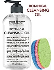 Deep Cleansing Oil - 100% Pure & Natural, 9 fl oz with...