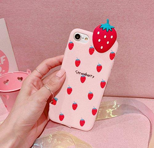 6 iPhone iphone 3D de Coque pour Ekakashop Silicone 6s Cr Housse Protection zBBndx