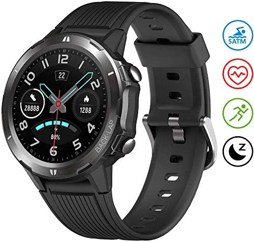 UMIDIGI Smart Watch Fitness Tracker Uwatch GT, Smart Watch for Android Phones, Activity Tracker Smartwatch for Men with Sleep Monitor All-Day Heart Rate 5ATM Waterproof