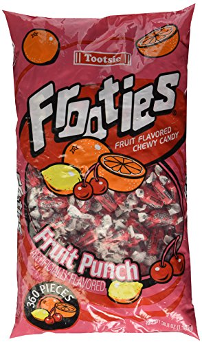 Frooties 360 Piece Bag Fruit Punch - 38.8oz by Frooties