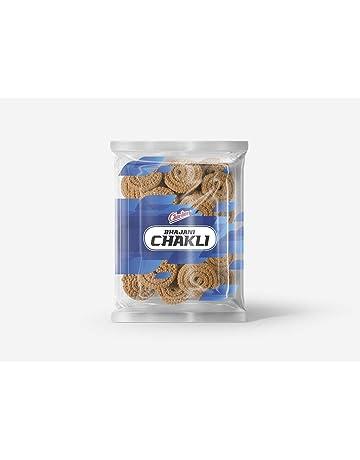 Charliee (Mumbai) Mini Bhajani Chakli, Indian Food and Snacks, Authentic Taste,