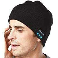 XIKEZAN V4.2 Unique Knit Bluetooth Beanie Hat Headphones