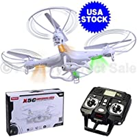 Syma X5C Explorers 2.4G 4CH 6-Axis Gyro RC Quadcopter with HD Camera RTF New