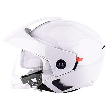 Wangenpolster Komplettwaschbar Motorrad-Helm Roller-Helm Helmet leap-G Motorradhelm Integralhelm Fullface Helm F/ür Damen Herren Erwachsene