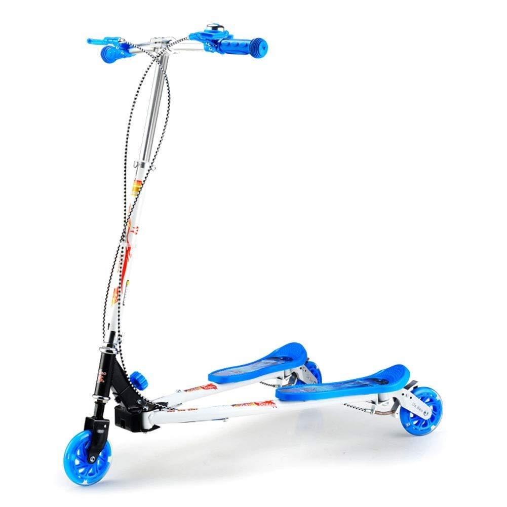 【正規通販】 スクーターを蹴る子供たち 三輪車、シザー車、スイングカー、カエルスクーター B07R667688 : 青) (色 : 青) B07R667688 青, 五島市:69930263 --- 4x4.lt