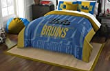 Officially Licensed NCAA UCLA Bruins Modern Take Full/Queen Comforter and 2 Sham Set
