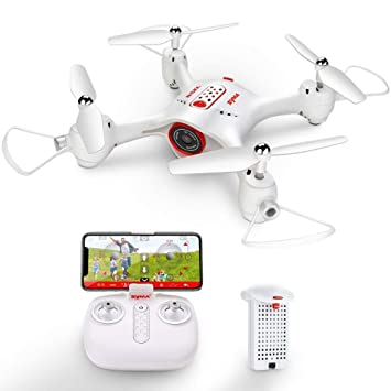 Ydq Mini Drone Plegable 720P, RC Drone Night Light Flying RC ...