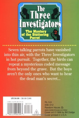 The Mystery of the Stuttering Parrot (The Three Investigators No. 2) by Random House Kids (Image #1)