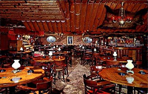 Clearman's North Woods Inn, 7247 N. Rosemead at Huntington Drive Original Vintage Postcard ()