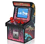 centipede gaming console - Mini Arcade Game Retro Machines for Kids with 200 Classic Handheld Video Games Home Travel Portable Gaming System Childrens Tiny Toys Novelty Electronics for Boys-RUIER Eye Protection New Version
