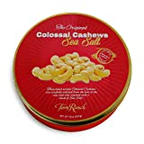Torn Ranch Colossal Cashew Gift Tin | Natural, Non-GMO and Kosher | Gift Nuts | Flavored Nuts