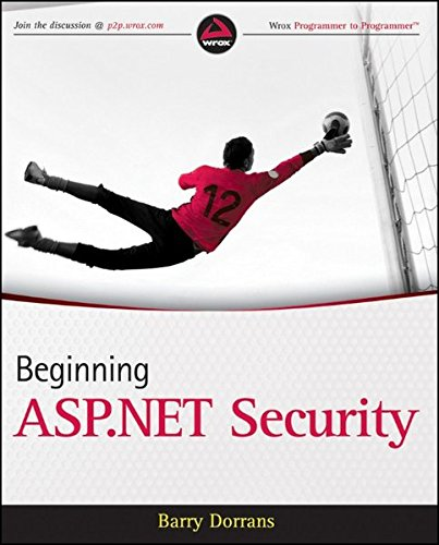 Beginning ASP.NET Security by Wrox