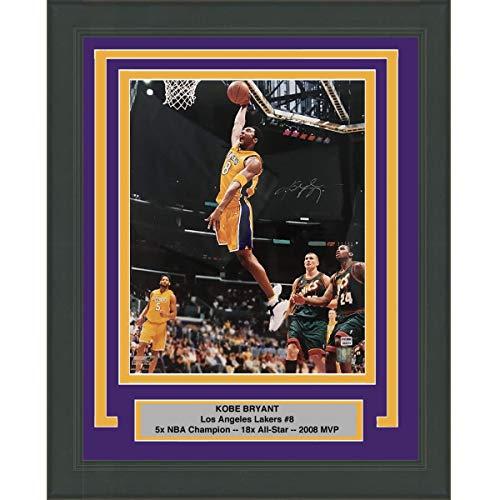 b31158acf74c Framed Autographed Signed Kobe Bryant Los Angeles Lakers 16x20 Basketball  Photo PSA DNA COA  2