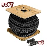 40 Roller Chain 50 Feet with 5 Connecting Links
