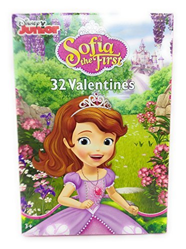 Happy Valentines Day 32 Cards Sofia the First