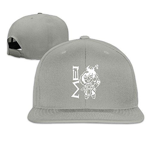 Overwatch Happy Mei Unisex Outdoor Baseball Rowing Cotton Sanpback Cap Hat Adjustable Ash (Dancing Machine Mc Hammer)