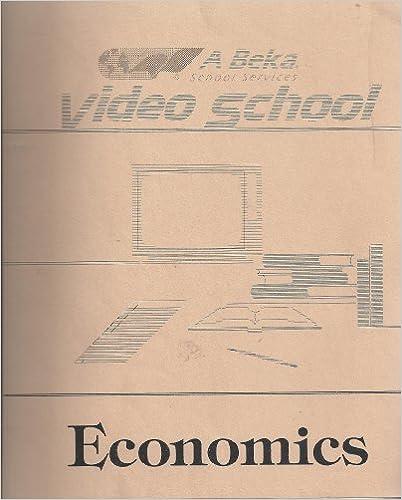 Book Video School, Economics Video Manual