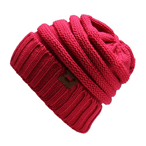 Oreja Tejida 2018 Color red ZGMZHNXC Trigo Gorra Sombrero Sombrero De De Rose Punto para Hombres Autumn De Sombrero Outdoor qAA06Fw