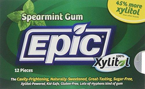 Epic Dental 100% Xylitol Sweetened Gum