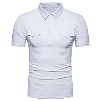Camisa Polo De Los Hombres Camisetas De Manga Corta Camisas Polo ...