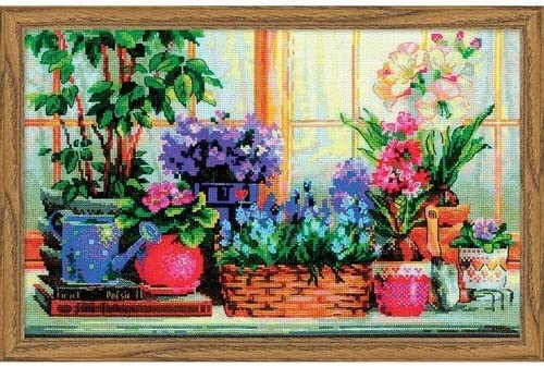 "Counted Cross Stitch Kit RIOLIS 978 /""Flowering Garden/"""