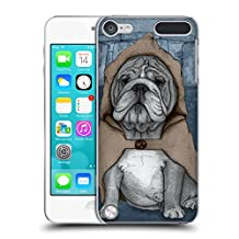 Official Barruf English Bulldog Dogs Hard Back Case for iPod Touch 5th Gen / 6th Gen
