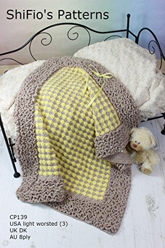 Baby Afghan Crochet Pattern - 9