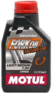 MOTUL Fork Oil Factory Line Light/Medium 7.5W 1L