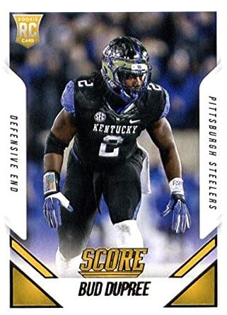 new arrivals 6aae0 3e248 Amazon.com: 2015 Score #345 Bud Dupree Steelers NFL Football ...