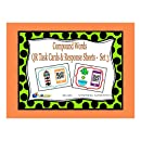 Compound Words QR Task Cards & Response Sheets - Set 3