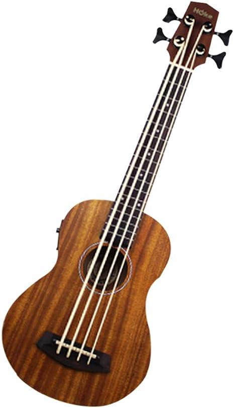 Leoie ukelele bajo 30 pulgadas ubass Hawaiian bajo de guitarra ...