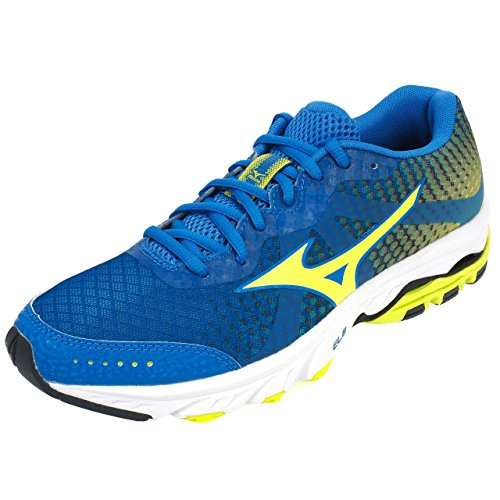 running h Chaussures Turquoise wave Mizuno Elevation gIqURUS