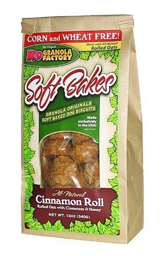 - K9 Granola Factory Soft Bakes Cinnamon Roll
