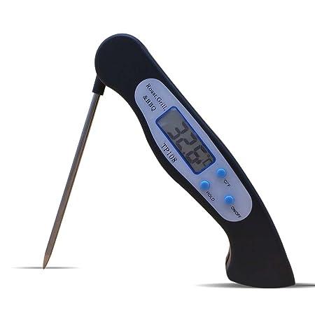 Küche Lebensmittel Thermometer Edelstahl Zucker Digital Check Kochen Temperature