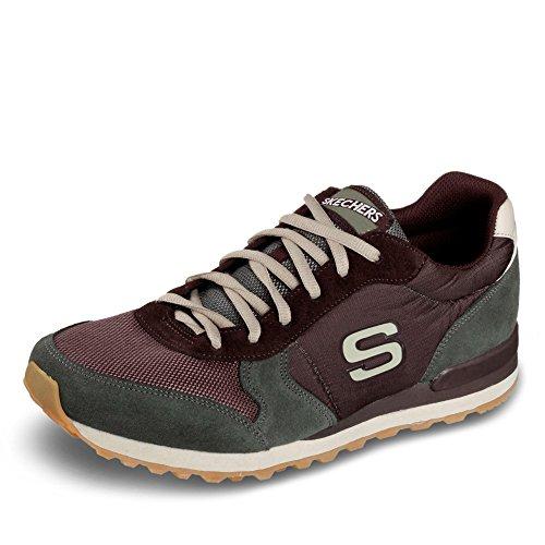 Calzado deportivo para hombre, color marr�n , marca SKECHERS, modelo Calzado Deportivo Para Hombre SKECHERS OG 85 EARLY GRAB Marr�n marr�n