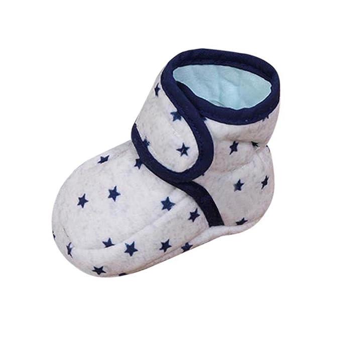 Scarpe per bambini Koly Scarpe per neonati morbidi per neonati bambino Sneaker Neonato a 6 Mesi (Pink) 9igilEO
