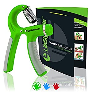 Grip Strengthener Forearm Exerciser Hand Strength Grips with Adjustable Resistance 22 88 Lbs for Finger, Wrist and Arm Training