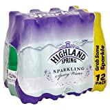 Highland Spring Sparkling Spring Water, 12 x 500ml