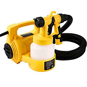Rapesee 4 in 1 Electric HVLP Spray Paint Gun Sprayer 650W 30000/min HVLP Paint Sprayer, Multi-function Spray Paint, Vacuum Cleaner, Inflator, Compressor Pump