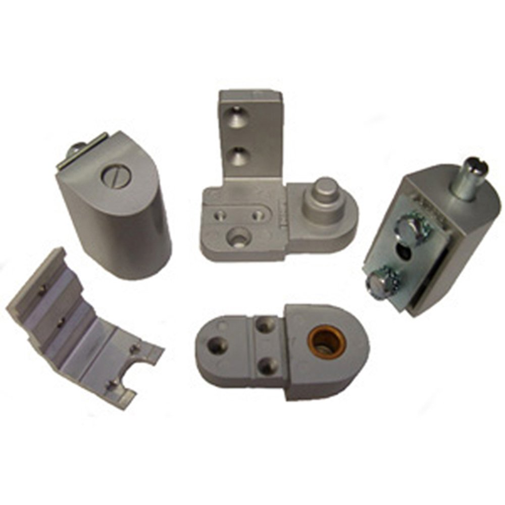 Global Door Controls Aluminum YKK Style Left Hand Offset Pivot by Global Door Controls