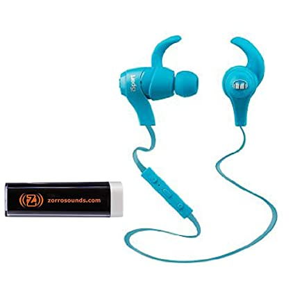 be1594effdb Amazon.com: Monster MH-ISRT-WL-IE-BL-BT-WW iSport Bluetooth Wireless In-Ear  Headphones in Blue with Mobile Charger: Home Audio & Theater