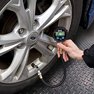 JACO ElitePro Digital Tire Pressure Gauge - Professional Accuracy - 200 PSI: Automotive