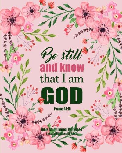 Bible Study Journal Workbook Beautiful product image