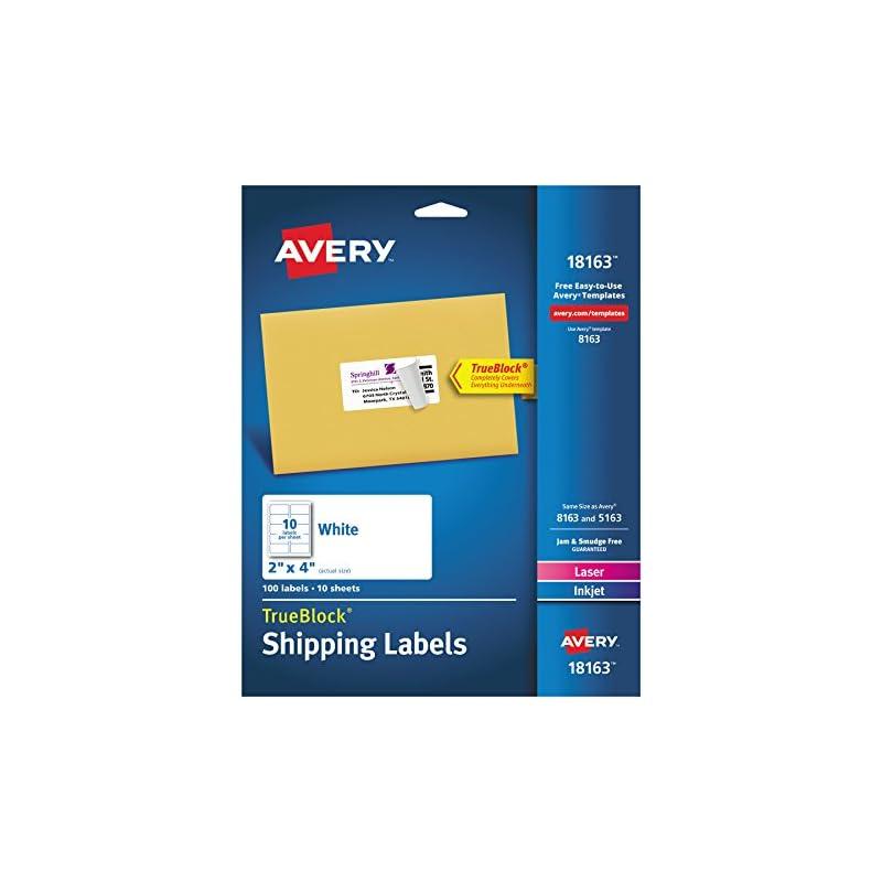 Avery Shipping Address Labels, Laser & I
