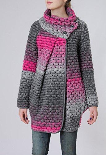 Mtl007 Caspar Rose Pour Femme Manteau Laine Gilet Coloris Plusieurs Épais L'hiver En dqqPxB6