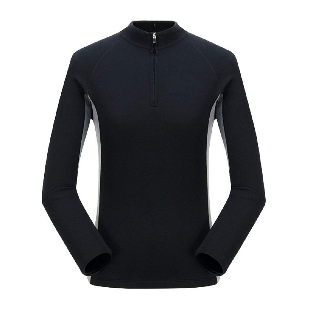 Arm /& Abdominal Trainer Black S 4XL Workout Sweat Sauna Suit Stomach Fat Burner Slimming Long Sleeve Shirt Valentina Womens Hot Thermo Body Shaper Best SCR Bodysuit for Weight Loss
