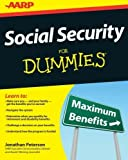 img - for Social Security For Dummies by Jonathan Peterson (2012-04-17) book / textbook / text book