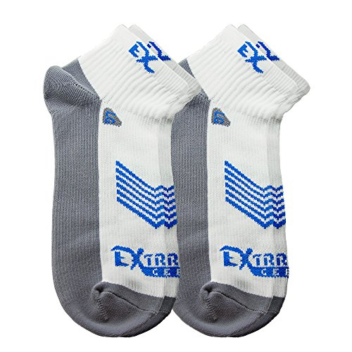 CYCLING RUNNING SOCKS - High Performance Moisture Wicking Ultra Breathability No Blister Quarter Sock 3 Colors