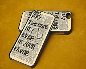 For Ipod Touch 5 Phone Case Cover Hunger Games Odds in Your Favor (Hard Plastic - Black)