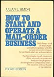 img - for How to Start and Operate a Small Mail Order Business book / textbook / text book